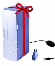Mini USB Cooler   Gift Portable Fridge  Office  Computer  Car  Home  Outd  New