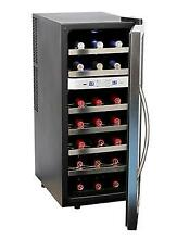 Whynter 21 Bottle Dual Temperature Zone Wine Cooler Stainless Steel WC 211DZ