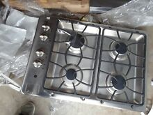 GE   30  Built In Gas Cooktop   Stainless steel