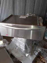 KitchenAid   Architect Series II 30  Warming Drawer   Stainless steel