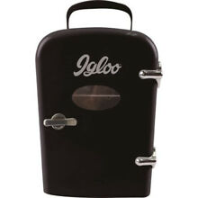 Igloo Mini Beverage Refrigerator Black