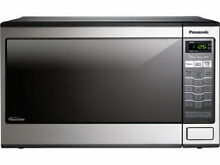 Panasonic NN SN671S Family Size 1 2 Cu  Ft  Countertop Microwave Oven