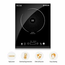 Portable Induction Cooktop  iSiLER 1800W Sensor Touch Electric Induction Cook