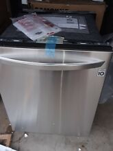 LG   24  Built In Dishwasher with QuadWash and Stainless Steel Tub   Stainless s