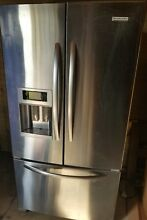 KitchenAid KFIS27CXMS Architect Series II 26 6 cu  ft  French Door Refrigerator