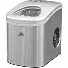 Igloo Compact Ice Maker   ICE117 Stainless Steel