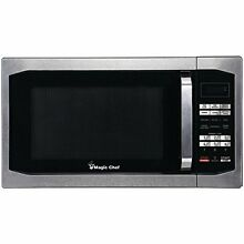 Z MCM1611ST Magic Chef Mcm1611st 1 6 Cubic ft Countertop Microwave  stainless
