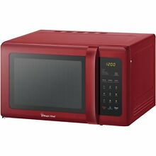 Magic Chef r  Mcd993r 0 9 Cubic ft Countertop Microwave  red