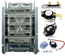Kenmore Dryer Heating Element Thermostat Fuse Kit  Check Model Fit List