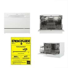 New Model  DDW621WDB Countertop Dishwasher  White