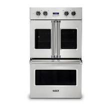 Viking 30in French Door Double Oven with Gourmet Glo   VDOF7301SS