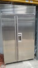 Sub Zero 48  SS Built In Fridge Model  690 F with 8 Yrs Full Warranty