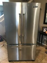 Viging Refrigerator Stainless Steel French Door