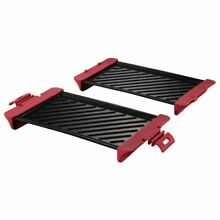 Xavax Grill Plate for Microwave  up to 900W  29 5 x 15 1 x 5 8 cm  2 pcs