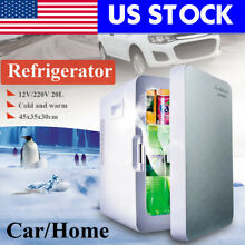 20L Portable Mini Refrigerator Cooler Warmer Fridge Auto Car Boat Home USA