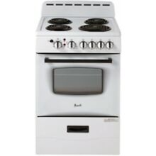 Avanti 24  White Freestanding Electric Range