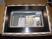 LG MK2030BS 30 Inch Balck Stainless Steel Microwave Trim Kit   READ
