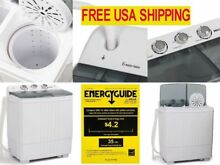 Small Compact Portable Washing Machine Spin Dryer Home Condo Dorm Apartment RV