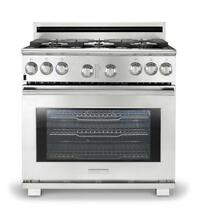 Electrolux Icon Professional Stainless Dented Back 36   Gas Range E36GF76JPS