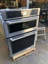 Jenn Air Pro 30  SS Combo Oven Microwave Model  JMW2430WP
