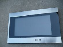 Bosch HMB5050 01 Microwave Door Assembly   Excellent Condition