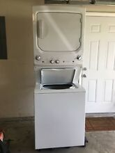 GE MODEL GU27ESSMWW LAUNDRY CENTER