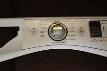 Whirlpool Washer Control Panel Console and Bracket  W10391527 W10463521