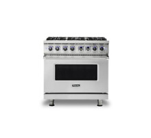 Viking 7 Series 36  Gas Range   FREE Dishwasher    VGR73616BSS