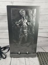 Star Wars 3D LED Molded Han Solo Carbonite Thermoelectric Cooler Mini Fridge 12L