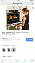 Dacor Renaissance 30  4 8 Stainless Steel Electric Double Wall Oven RNO230PS