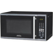Sunbeam Digital Microwave  Black  0 7 Cu Ft