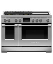 Fisher Paykel 48  Pro Duel Fuel Range with Griddle RDV3 485GD N