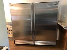 Sub Zero 601R  S TH RH 72  Refrigerators   Stainless Steel Tubular Handle