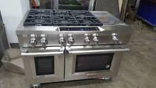 KitchenAid 48 SS 6 Burners Griddle Dual Fuel Range Model  KDRS483VSS04