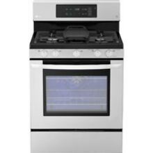 LG Stainless Steel Freestanding Gas Range