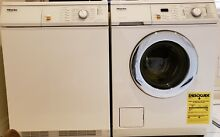 Miele Novotronic W1986 Washer and T1576 Dryer Very Lightly Used Excellent Clean