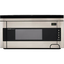 Sharp 1 5 Cu Ft  Over the Range Microwave   R1514T
