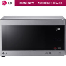 LG 0 9 Cu  Ft  NeoChef Countertop Microwave in Stainless Steel   LMC0975ST
