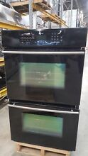 Jenn Air 30  Black Double Wall Oven   Single Convection Model  JJW9430DDB