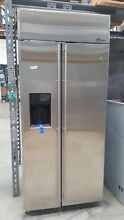 GE Monogram 36  SS Built in Fridge Model  ZISS360DRHSS