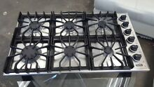 Viking Pro 36  SS 6 Burners Drop in Cooktop Model  VGSU161 6BSS