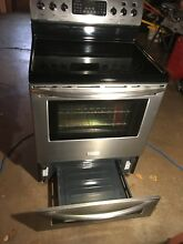 Frigidaire Profesional Series Electric Range Bake N Warm Double Oven
