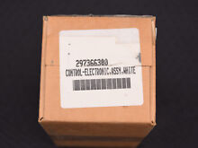 White Frigidaire freezer electronic control board model   297366300