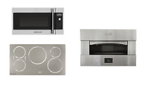 Monogram Package  30  Pizza Oven  36  Cooktop  Over the Range Microwave