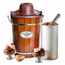 Ice Cream Machine 6 Qt Quart Maker Electric Home Made Old Fashioned Appliances