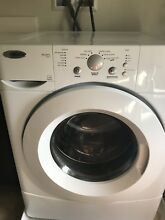 USED  Amana Tandem 7300 Front Load Washer And Dryer  White