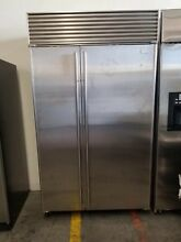 Sub Zero 48  SS Built In Fridge Model  632 S