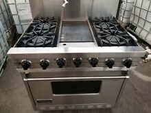 Viking Pro 36  SS 4 Burners with Griddle Gas Range