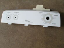 Hotpoint Washer Used Backsplash Panel WH42X22695