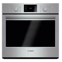 Bosch 30  500 Series Built In Stainless Steel Electric Single Wall Oven